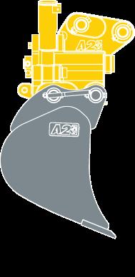 Mini-Tilt Coupler and Wide Bucket mk3