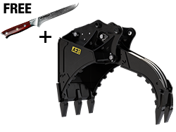 Multi Grab Bucket with Free Knife