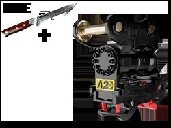 a2Lock Motor Tilt Coupler with Free Knife