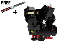 a2Lock twin ram Coupler with Free Knife 1